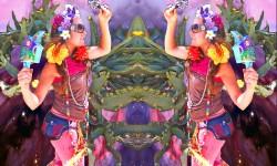 shamanatrix, missy galore, aura fluff, amika mu