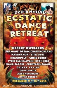 3rd ecstatic dance retreat hawaii